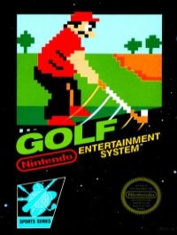 Golf (3 screw cartridge) Box Art