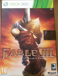 Fable III - Limited Collector's Edition Box Art
