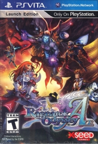 Ragnarok Odyssey Ace - Launch Edition Box Art