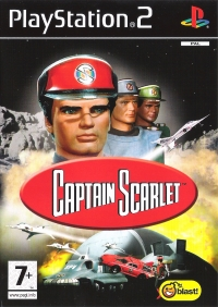 Captain Scarlet Box Art