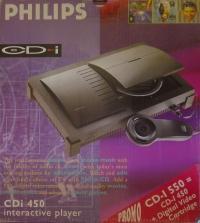 Philips CD-i 550 Box Art