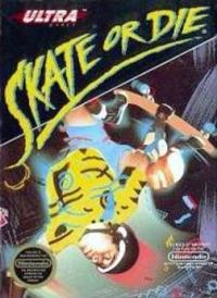 Skate Or Die Box Art