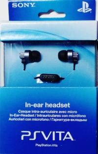 Sony In-ear headset Box Art