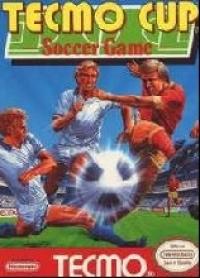 Tecmo Cup Soccer Game Box Art