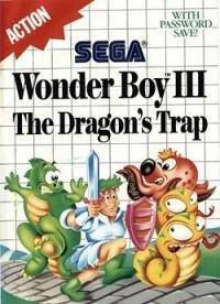Wonder Boy III: The Dragon's Trap Box Art