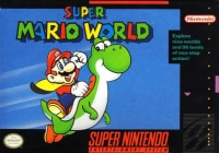 Super Mario World (locking cartridge) Box Art