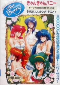 Can Can Bunny Box Art