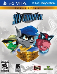 Sly Cooper Collection Box Art