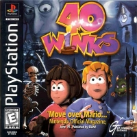 40 Winks Box Art