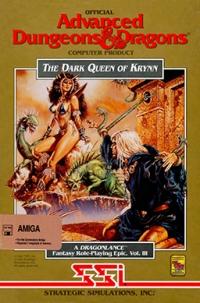 Advanced Dungeons & Dragons: The Dark Queen of Krynn Box Art