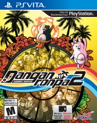 Danganronpa 2: Goodbye Despair Box Art