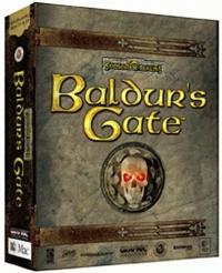 Baldur's Gate Box Art