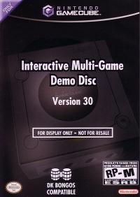 Interactive Multi-Game Demo Disc Version 30 Box Art