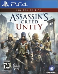 Assassin's Creed: Unity - Limited Edition Box Art