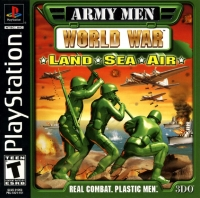Army Men: World War: Land, Sea & Air Box Art