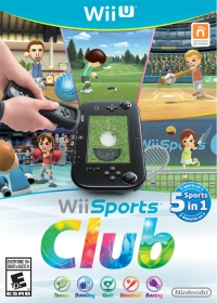 Wii Sports Club Box Art