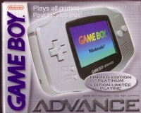 Nintendo Game Boy Advance - Platinum [EU] Box Art