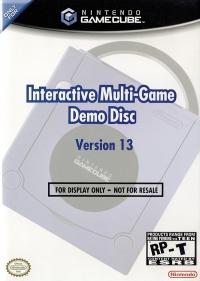 Interactive Multi-Game Demo Disc Version 13 Box Art