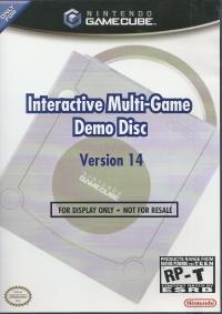 Interactive Multi-Game Demo Disc Version 14 Box Art