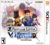 Professor Layton VS Phoenix Wright: Ace Attorney Box Art