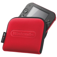 Nintendo 2DS Carry Case - Red Box Art