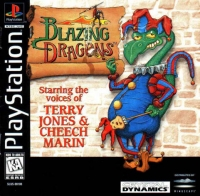 Blazing Dragons Box Art