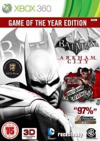Batman: Arkham City - Game Of The Year Edition Box Art