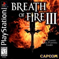 Breath of Fire III Box Art