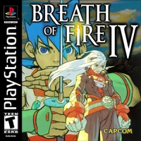 Breath of Fire IV Box Art