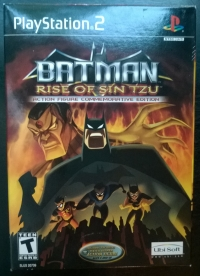 Batman: Rise of Sin Tzu Action Figure Commemorative Edition (Batman) Box Art