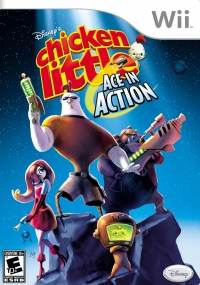 Chicken Little: Ace in Action Box Art