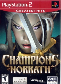 Champions of Norrath - Greatest Hits Box Art