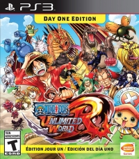 One Piece Unlimited World Red - Day One Edition Box Art