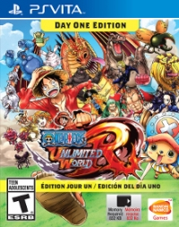 One Piece Unlimited: World Red - EB Games Exclusive - Day One Edition Box Art