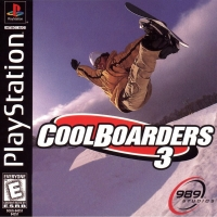 Cool Boarders 3 Box Art
