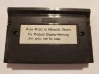 Alex Kidd in Miracle World (Not for Resale) Box Art