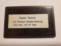 Super Tennis (Not for Resale) Box Art