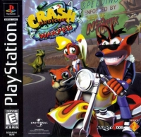 Crash Bandicoot: Warped Box Art