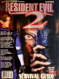Resident Evil 2 - Gamefan Books Survival Guide - Strategy