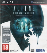 Aliens: Colonial Marines - Limited Edition [UK][FR] Box Art