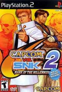 Capcom vs SNK 2: Mark of the Millennium 2001 Box Art