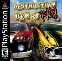 Destruction Derby: Raw Box Art
