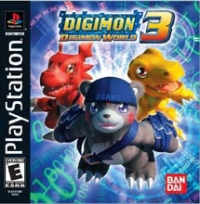 Digimon World 3 Box Art