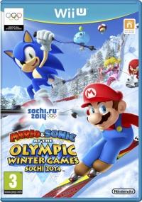 Mario & Sonic at the Winter Olympic Games: Sochi 2014 Box Art