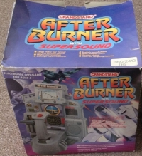 After Burner with Super Sound Box Art
