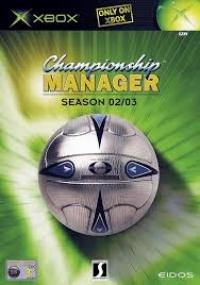 Championship Manager: Season 02/03 Box Art