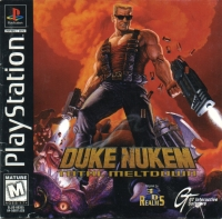 Duke Nukem: Total Meltdown Box Art