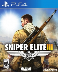 Sniper Elite III Box Art