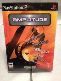 Amplitude Demo Disc Box Art