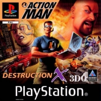 Action Man: Destruction X Box Art